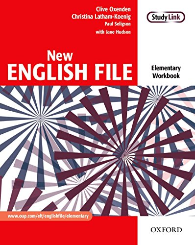 New English File: Elementary: Workbook By Clive Oxenden