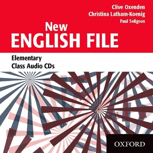 New-English-File-Elementary-Class-Audio-CDs-3-by-Seligson-Paul-CD-Audio