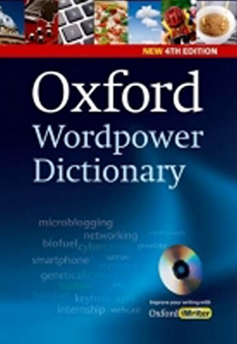 Oxford Wordpower Dictionary, 4th Edition Pack (with CD-ROM) by