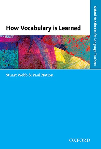 How Vocabulary Is Learned By Stuart Webb