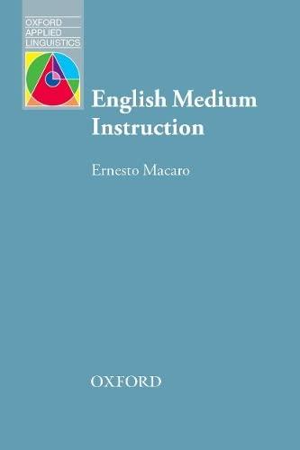 English Medium Instruction By Ernesto Macaro