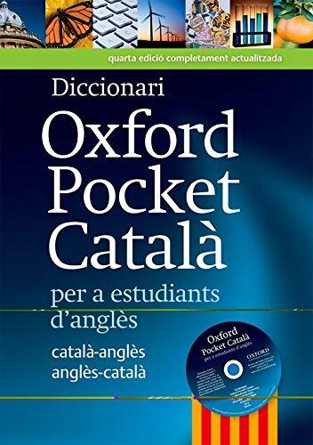 Diccionari Oxford Pocket Catala per a estudiants d'angles By Oup