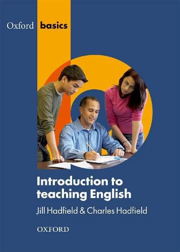 Introduction to Teaching English By Jill Hadfield