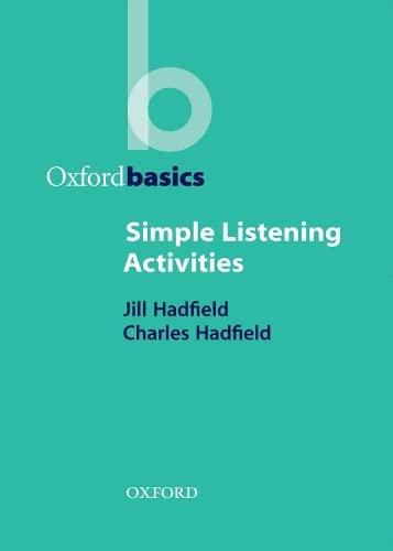 Simple Listening Activities By Jill Hadfield