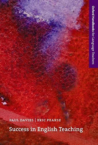 Success in English Teaching By Paul Davies