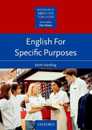 English for Specific Purposes By Keith Harding