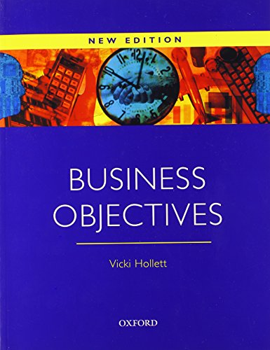 Business Objectives By Vicki Hollett
