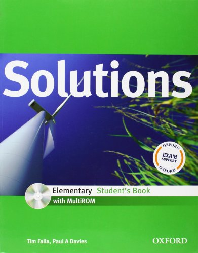Solutions Elementary: Student's Book with MultiROM Pack by Tim Falla