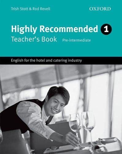 Highly Recommended, New Edition: Teacher's Book By Trish Stott