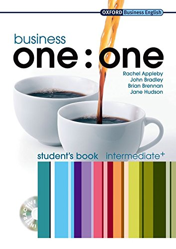 Business one:one Intermediate Plus: Student's Book and MultiROM Pack By Jane Hudson