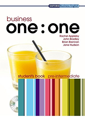 Business one:one Pre-intermediate: Student's Book and MultiROM Pack by Rachel Appleby