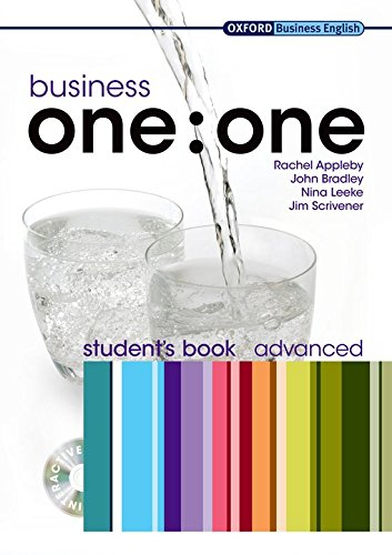 Business one:one Advanced: Student's Book and MultiROM Pack by Rachel Appleby