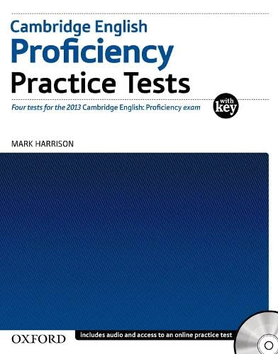 Cambridge English: Proficiency (CPE): Practice Tests with Key by