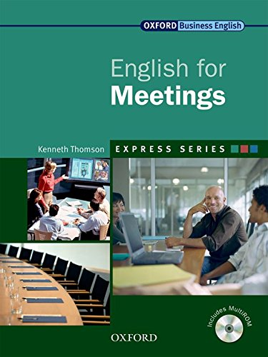 Express Series: English for Meetings By Kenneth Thomson
