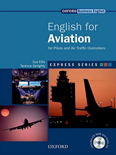 English for Aviation Student's Book, MultiROM and Audio CD (Express Series) By Sue Ellis