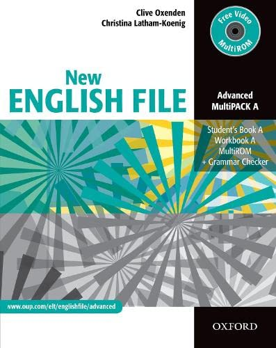 New English File: Advanced: MultiPACK A By Oxenden/Latham-Koeni