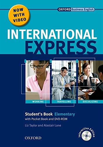 International Express: Elementary: Student's Pack: (Student's Book, Pocket Book & DVD) By Adrian Wallwork