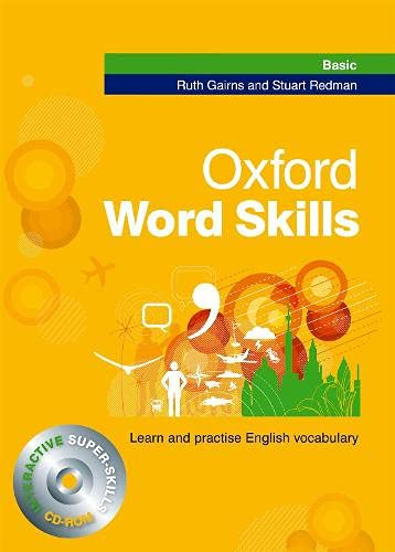 Oxford Word Skills: Basic: Student's Pack (Book and CD-ROM) By Ruth Gairns
