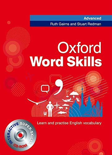 Oxford Word Skills Advanced: Student's Pack (Book and CD-ROM) By Ruth Gairns