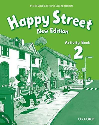 Happy Street: 2 New Edition: Activity Book and MultiROM Pack By Stella Maidment
