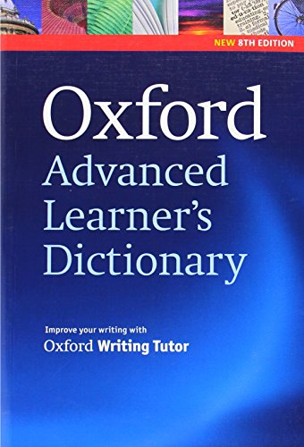Oxford Advanced Learner's Dictionary, 8th Edition: Paperback By Edited by A. S. Hornby
