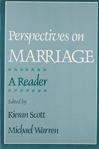 Perspectives on Marriage By Edited by Michael Warren