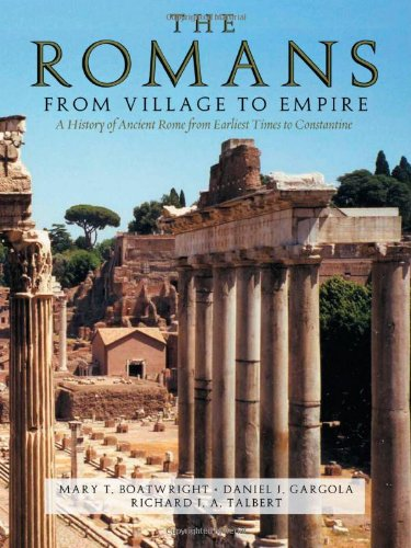 The Romans By Mary T. Boatwright (Professor of Ancient History in the Department of Classical Studies, Professor of Ancient History in the Department of Classical Studies, Duke University)