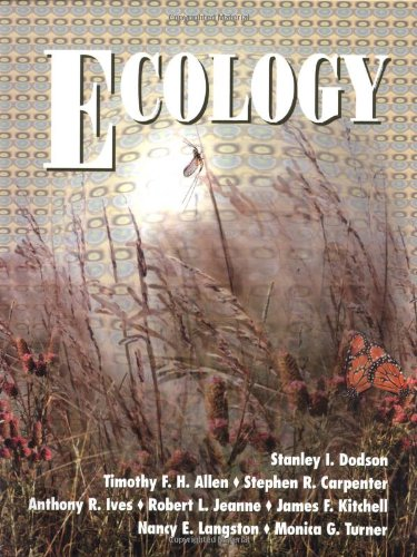 Ecology By Stanley I. Dodson