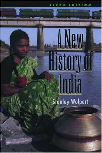 A New History of India By Stanley Wolpert