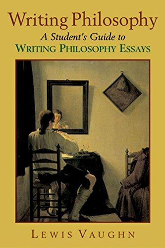 Writing Philosophy By Lewis Vaughn
