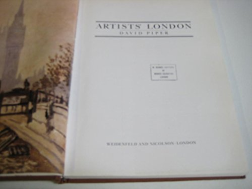 The Artists' London By David Piper