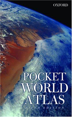 Pocket World Atlas By Created by Oxford University Press