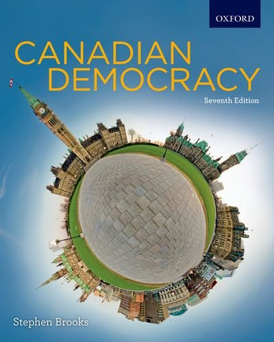 Canadian Democracy By Stephen Brooks