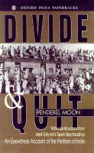 Divide and Quit By Penderel Moon