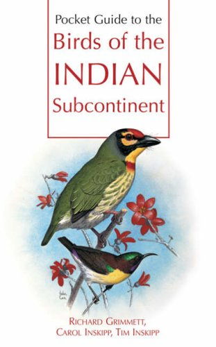 Pkt Guide Birds of India (Oup) By Carol Inskipp