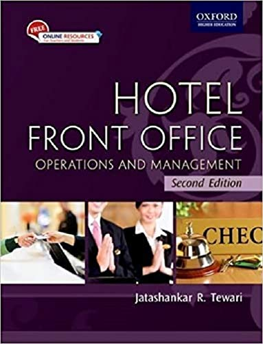 Hotel Front Office: Operations and Management by J.R. Tewari