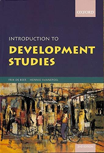 Introduction to Development Studies By Hennie Swanepoel