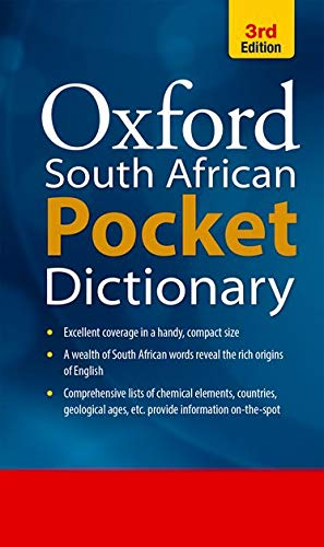 South African Pocket Oxford Dictionary By Catherine Soanes