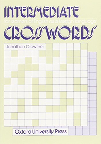 Intermediate Crosswords By Jonathan Crowther
