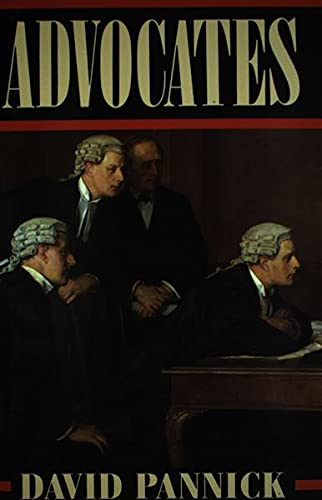 Advocates By David Pannick, QC