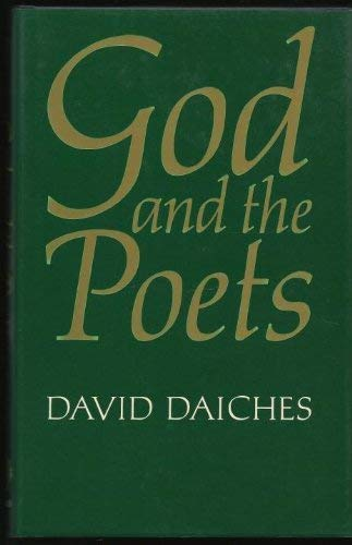 God and the Poets By David Daiches
