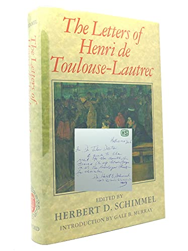 The Letters By Henri de Toulouse-Lautrec
