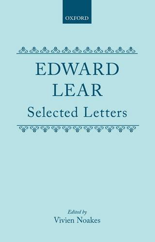 Selected Letters By Edward Lear