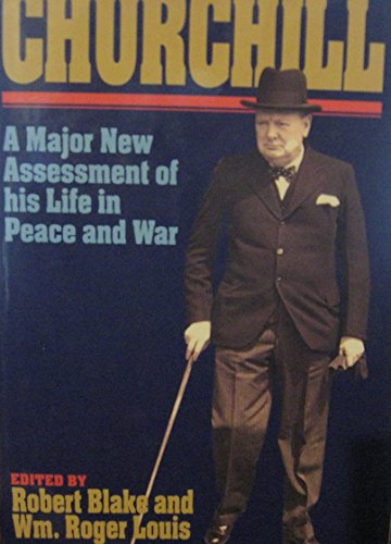 Churchill By Edited by Robert Blake