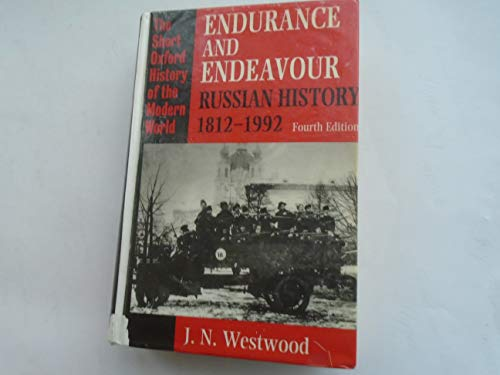 Endurance and Endeavour By J. N. Westwood