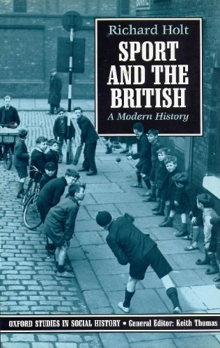 Sport and the British By Richard Holt