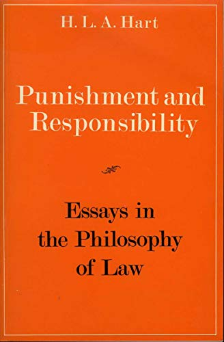 Punishment and Responsibility By H. L. A. Hart