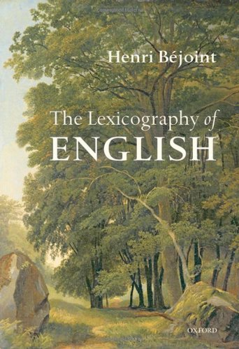 The Lexicography of English By Henri Bejoint