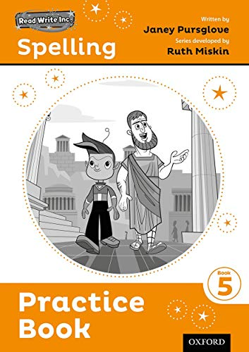 Read Write Inc. Spelling: Practice Book 5 Pack of 5 By Series edited by Ruth Miskin