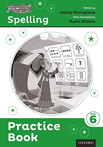Read Write Inc. Spelling: Practice Book 6 Pack of 30 By Series edited by Ruth Miskin